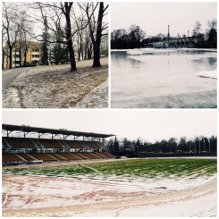 """6. On the other side of the central railway station is the Paavo Nurmi Stadium, named after the Turku-born """"Flying Finn"""" for dominating cross country events at the Olympic Games. The stadium might be closed in the winter, but the locals still do their exercises around the park, and the frozen lake nearby is a perfect location for ice-skating."""