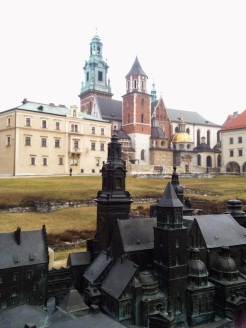 3. The Gothic Wawel Castle, with a beautiful courtyard and two medieval churches and cathedrals, was built during the reign of Casmir III the Great. Like the old town and palace in Warsaw this palace was surrounded by formidable fortifications and defensive walls.
