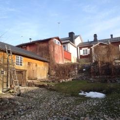 6. The Holm House garden has no actual garden, so this is the courtyard in the sun.