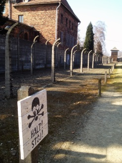 8. Auschwitz I. Fenced up.