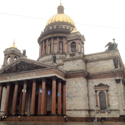 11. Saint Isaac's Cathedral is the largest Russian Orthodox cathedral in the city, and it is known for its intricate interior design and decoration. It is also one of the biggest dome cathedrals in the world.