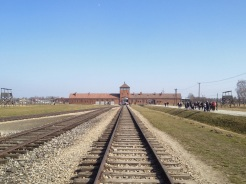 12. Auschwitz II – Birkenau. The sites were chosen because of their proximity to the train systems. Hundreds of thousands of prisoners went past the main gates of Auschwitz II – Birkenau before they entered the actual concentration camps or the gas chambers.