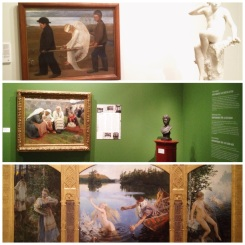 """12. The painting on the top, """"The Wounded Angel"""" by Hugo Simberg, was voted the most loved work in Ateneum in a Finnish poll (2007)."""