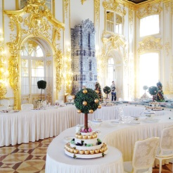 15. A centrepiece in one of the many rooms, where grand functions were held and prominent guests entertained.