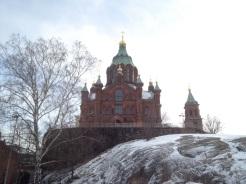 16. The Uspenski Cathedral, designed by Russian architect Aleksey Gornostayev.