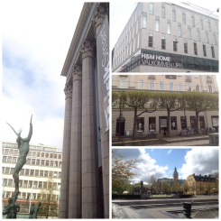 "2. Started the day with a free walking tour (always recommended). From left to right, top to bottom: the venue of the Nobel Prize award ceremony, right across the oldest ""hay market"" marketplace; the headquarters of H&M; the location of the bank, from which the phrase ""Stockholm Syndrome"" originated; and the beautiful King's Garden."