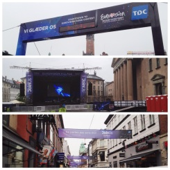 2. Copenhagen was hosting the annual Eurovision during my visit. Was not particularly interested, though there was fanfare everywhere: in the old town hall square, in the new town hall square, and along the main shopping district.