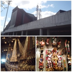 3. I would highly recommend the Vasa Museum, where one would see a shipwrecked, salvaged, and reconstructed Swedish vessel from the seventeenth century. It is quite a sight. The ship had sailed for less than 30 minutes before sinking in the Stockholm harbour. Do watch the film about the decades-long reconstruction process (the vessel is 98 per cent original), and take the guided tour around the ship and its exhibitions.