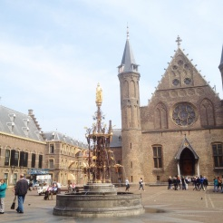 6. I enjoyed The Hague a lot more. From the central train station get to the tourist information counter in the city centre, and as you walk towards the Peace Palace you will pass the Binnenhof and the Ridderzaal. Stroll through the courtyard to see the Inner Courts and the Hall of the Knights respectively: both the complex and the building had been the historical centre of Dutch politics, housing the government and visiting dignitaries.