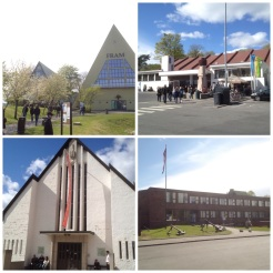 6. On the island of Bygdøy there are four maritime museums (all of them are worth your time). Clockwise from top-left: the Fram Museum, which tells of the perilous polar and arctic exhibitions (the film is a must); the Kon-Tiki Museum, about Thor Heyerdahl (who introduced the concept of maritime experimental archaeology) and how he sailed in balsa-wood rafts and reed boats; the Viking Ship Museum, which has well-preserved Viking ships and artefacts; as well as the Norwegian Maritime Museum (check out the 2200-year-old dugout boat, and enjoy the film of beautiful shots and clips of Norwegian coasts and cities).