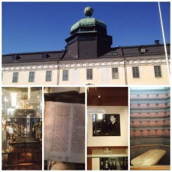 11. Museum Gustavianum is Sweden's largest university museum. It might seem peculiar or sound boring, but the building is an absolute delight. Bottom, from left to right: the Augsburg Art Cabinet, which contains a collection of colourful and intricate objects; lecture notes (handwritten!) in 1477, the first year of the university; an exhibit of Nobel Prize laureates from the university, this one featuring the late United Nations Secretary-General Dag Hammarskjöld; and the famed Anatomical Theatre.