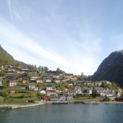 14. The town of Aurland. Took my breath away.