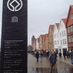 18. The Bryggen area, an archaeological excavation which is also a UNESCO World Heritage Site. Pretty area. Visit the Bryggens Museum first and pick up a brochure which gives you more information about the area and landmarks.