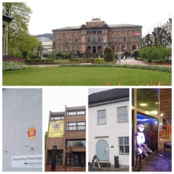 20. Museums (bottom, from left to right): the Bergenhus Fortress Museum (not the most interesting); the Bryggens Museum (with exhibitions on the Middle Ages and archaeological investigations this is a good starting point before walking around Bryggens); Håkon's Hall (the political centre of Norway in the thirteenth century, worth a quick visit); and VilVite, the Bergen Science Museum. The four art museums in the city are also great.