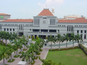 Taken from http://upload.wikimedia.org/wikipedia/commons/8/89/Parliament_House_Singapore.jpg.