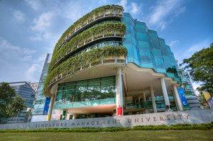 But he drew the most bouquets and brickbats when he questioned efforts by the four autonomous universities to develop a Singaporean core / Photo Credit: Singapore Management University.