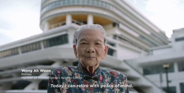 Madam Wong Ah Woon (Image Credit: govsingapore / YouTube).