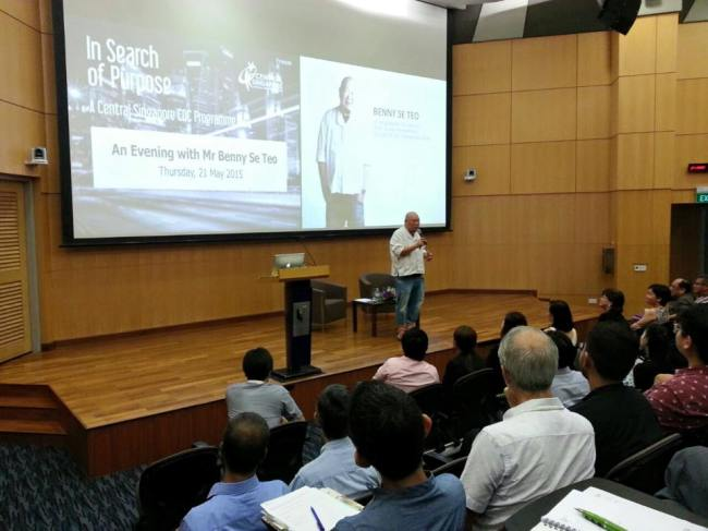 Mr. Benny Se Teo, Founder and CEO of Eighteen Chefs (Image Credit: Central Singapore CDC / Facebook).