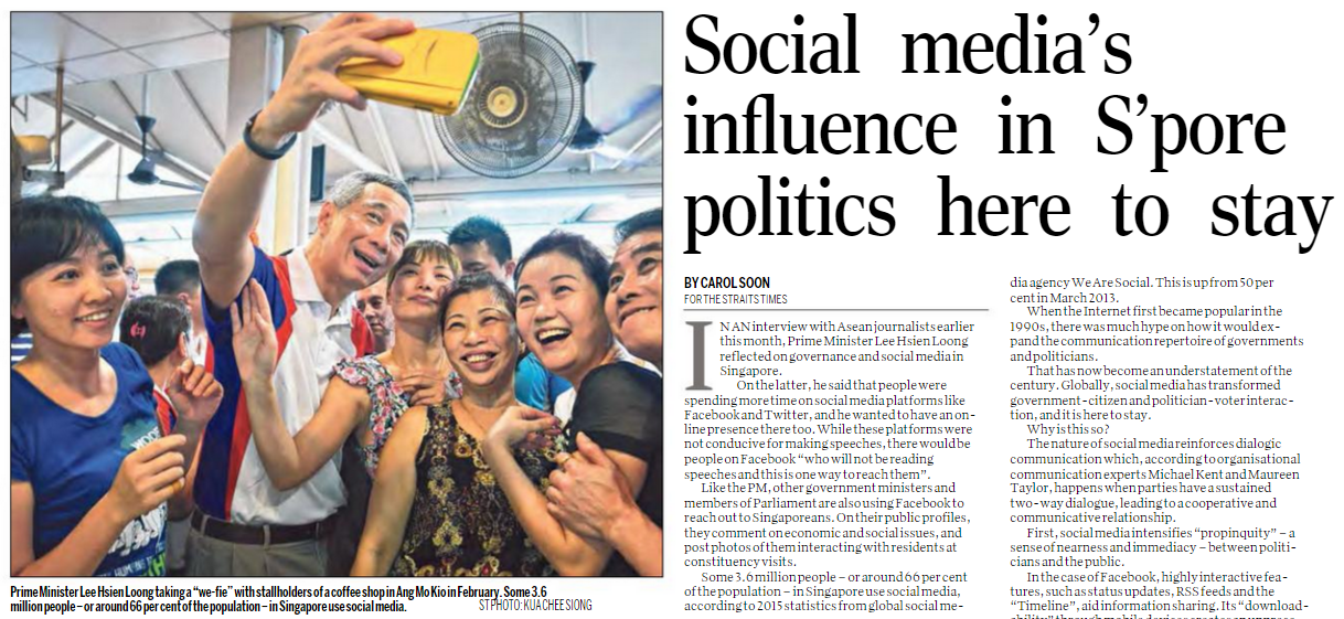 media influence on politics and government
