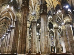 9. The two euros to enter the cathedral are well worth the expense. One can expect to spend up to an hour admiring the many features and artefacts in the interior of Il Duomo. The gigantic pillars are impressive, leading one to wonder how they were hoisted in the past.