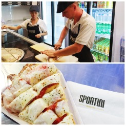 12. A pizza dinner at Spontini, a short walk from Il Duomo. There are only three types of pizzas – baked in wood-burning ovens – available, and I had the delicious prosciutto one.