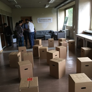 Room in a Box, at the German Tech Entrepreneurship Centre.