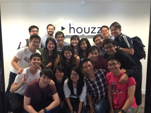 The iLEAD team from Singapore, at Houzz in Berlin, Germany.