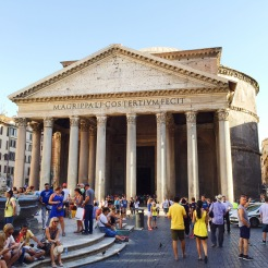 4. The Roman Pantheon, the most preserved building of ancient Rome. This photograph – unfortunately – does the temple no justice, especially when it has the biggest brick dome in the world, was constructed with brilliant engineering and architecture, and houses the tombs of the Italian kings of the past, so a free trip to the interior is absolutely necessary.