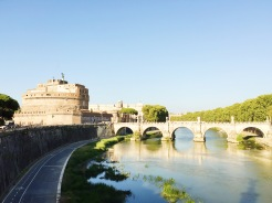 6. Once the tallest building in Rome, the Castel Sant'Angelo (Castle of the Holy Angel) was initially used as a mausoleum for the deceased, and thereafter as a fortress and castle. It now houses a museum, but it is also worth walking around the castle grounds in the evening, where families and young children have gatherings and sporting games.