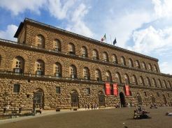 9. Situated on the other side of the Arno river is the Palazzo Pitti (Pitti Palace). It was the chief residence of the ruling families of the Grand Duchy of Tuscany and subsequently the power base of Napoleon, but is now the largest museum complex in Florence. The palace was purchased by the Medici family, a banking and political dynasty which gathered much power in the city in the past.