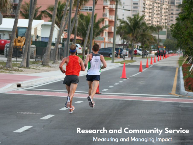 Research And Community Service - Measuring And Managing Impact