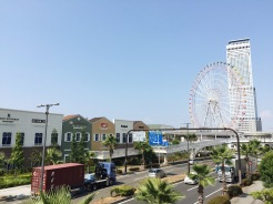 6. A short bus or train ride from Kansai International Airport is the largest outlet shopping centre in Western Japan, Rinku Premium Outlets. There is a nearby observatory flyer and a shopping arcade.