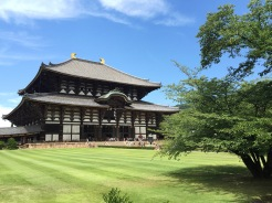15. The first of three sites we visited was the Tōdai-ji, or the Great Eastern Temple, which houses the largest bronze statue of Buddha in the world. A ticket grants access to the temple complex and within the temple, and the predominantly-wooden structure is awe-inspiring.
