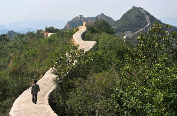 The botched repair across a section of the Great Wall of China has left Chinese preservationists and Internet users incensed (Associated Press).