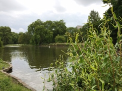 3. Saint James's Park - named after a leper hospital - was along the trail of the tour.