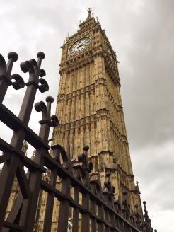 7. A short walk from Westminster Abbey is Big Ben, the nickname for a great bell at the Palace of Westminster, the parliamentary meeting place of the House of Commons and the House of Lords.