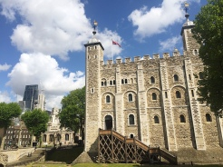 11. The half-day visit to the Tower of London was a good one. We started with a Yeoman Warder guided tour, through which we got a good 45-minute introduction to the grounds and its history, and thereafter we used an audio guide to get around the towers and the wards.