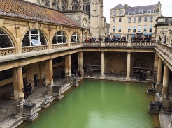21. The ruins of the Roman Baths and its temple, where people bathed nearly 2,000 years ago. Because the day-tour itinerary was rushed, we only got to see a very small part of Bath, which was a shame. The city looked quaint and pretty.