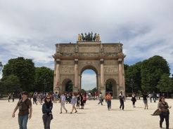 5. The Arc de Triomphe du Carrousel, which was completed before the actual Arc de Triomphe. If the weather permits, the walk between the two arches can be quite stunning.