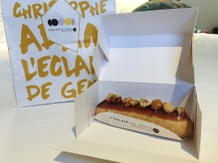 10. An expensive eclair, filled with salted caramel. It was good!