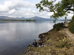 11. A couple at Loch Lomond.