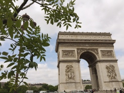 15. Built in 1806, the Arc de Triomphe is the biggest arch in the world, to celebrate Napoleon's victory at Austerlitz. As it is with many of the city's landmarks, there will be suggestions to visit them when they are lit up in the night, though in the summer the days were long.