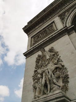 16. The climb up the Arc de Triomphe is not easy as well, but the views are worth the effort.