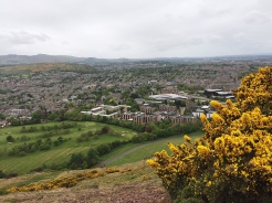 19. I trekked up Arthur's Seat in the morning. It is not a difficult climb, and well worth the effort. I would suggest going up the shorter peak first, before making the way up to the peak from there.