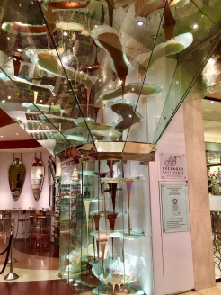 12. Housed in the Bellagio - a massive hotel featured in multiple films - is the world's largest chocolate fountain. The hotel also has an indoor Conservatory and Botanical Gardens, but unfortunately it was undergoing a facelift.
