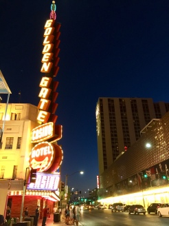 21. At Downtown Las Vegas, we continued our way through The Golden Gate Casino, the oldest casino in Las Vegas.