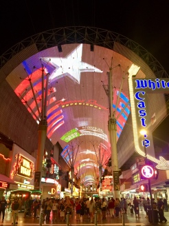 22. And finally, we ended the tour of Downtown Las Vegas - and of Las Vegas - along Fremont Street. There is a free hourly light show from 8pm onwards, but we found that to be fairly underwhelming.