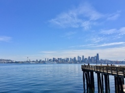 3. While West Seattle is a short distance from the downtown area, we were able to walk to the coast at the Seacrest Ferry Dock, where we would take a ferry to Downtown Seattle. There was also a good walking area around the waterfront Seacrest Park.
